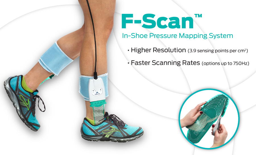 F-Scan - Tekscan's most comprehensive in-shoe gait analysis system