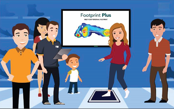 Create a more interactive customer experience with Footprint Plus.