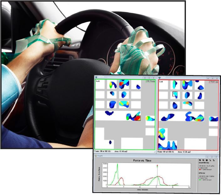 Grip Steering Wheel Ergonomic Assessment