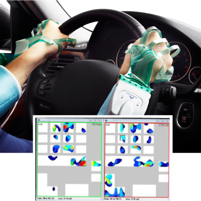 Example of Grip System feedback while performing common driving activities.