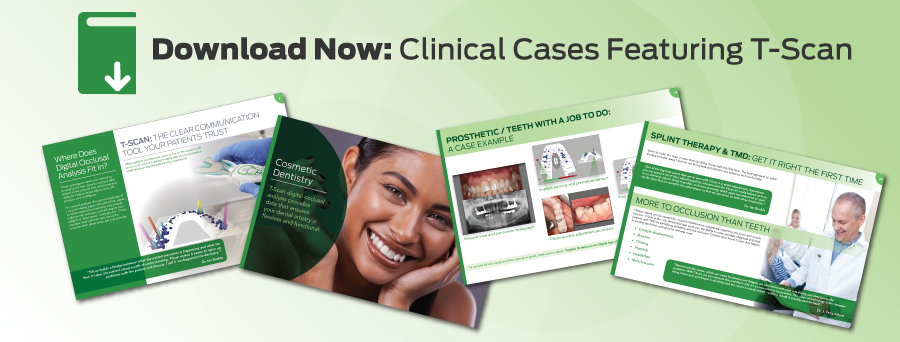clinical ebook featuring t-scan