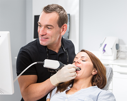 t-scan compares to intraoral scanning