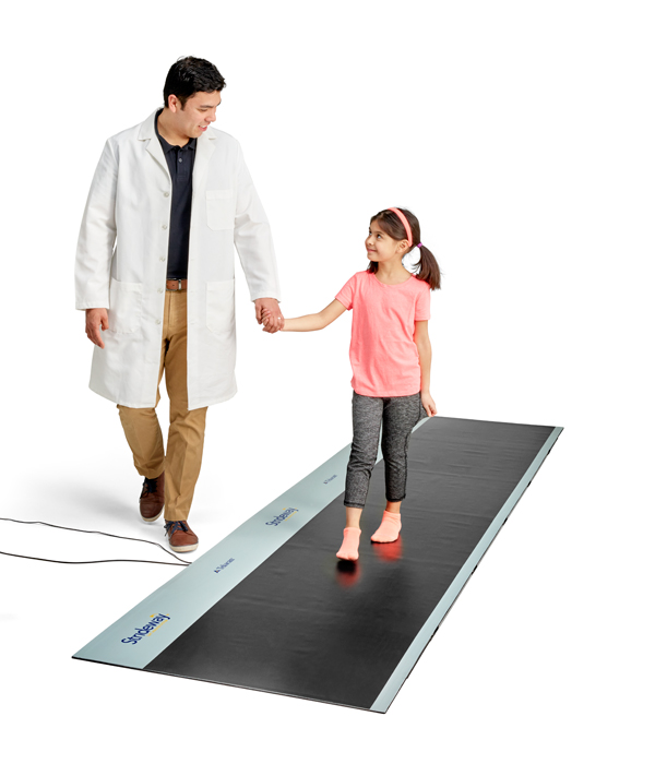 Strideway is a versatile product that can be used for patients young and old.