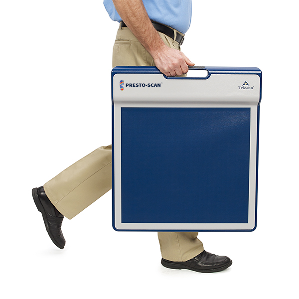 Portable platform allows assessments to be conducted in any location.