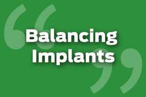 Ensure Implants Are Not Loading Too Early
