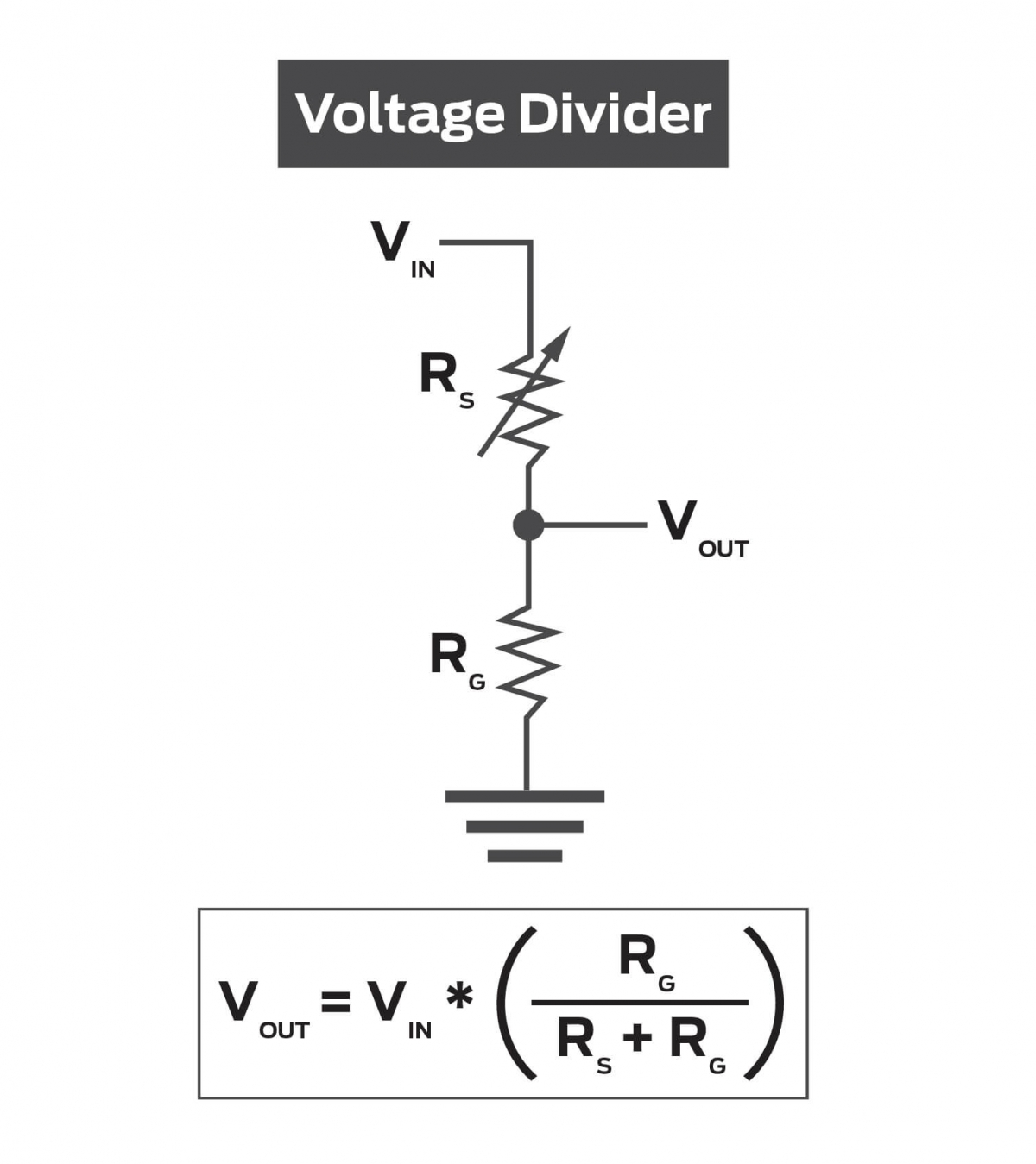 voltage divider diagram