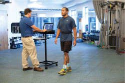 Conducting gait analysis with the F-Scan
