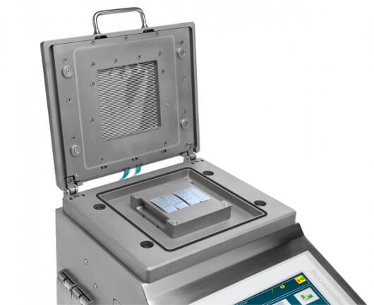 Bonfiglioli Engineering's pill blister pack testing machine