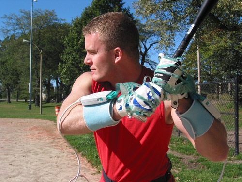 Grip Wireless for Bat Grip Evaluation
