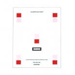 Replacement Calibration Sheet for Fujifilm Digital Analysis System