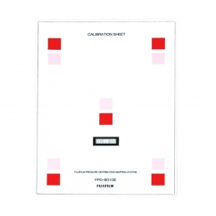 Replacement Calibration Sheet for Fujifilm Digital Analysis System