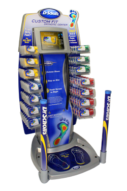 Dr. Scholl's Custom Fit Kiosk