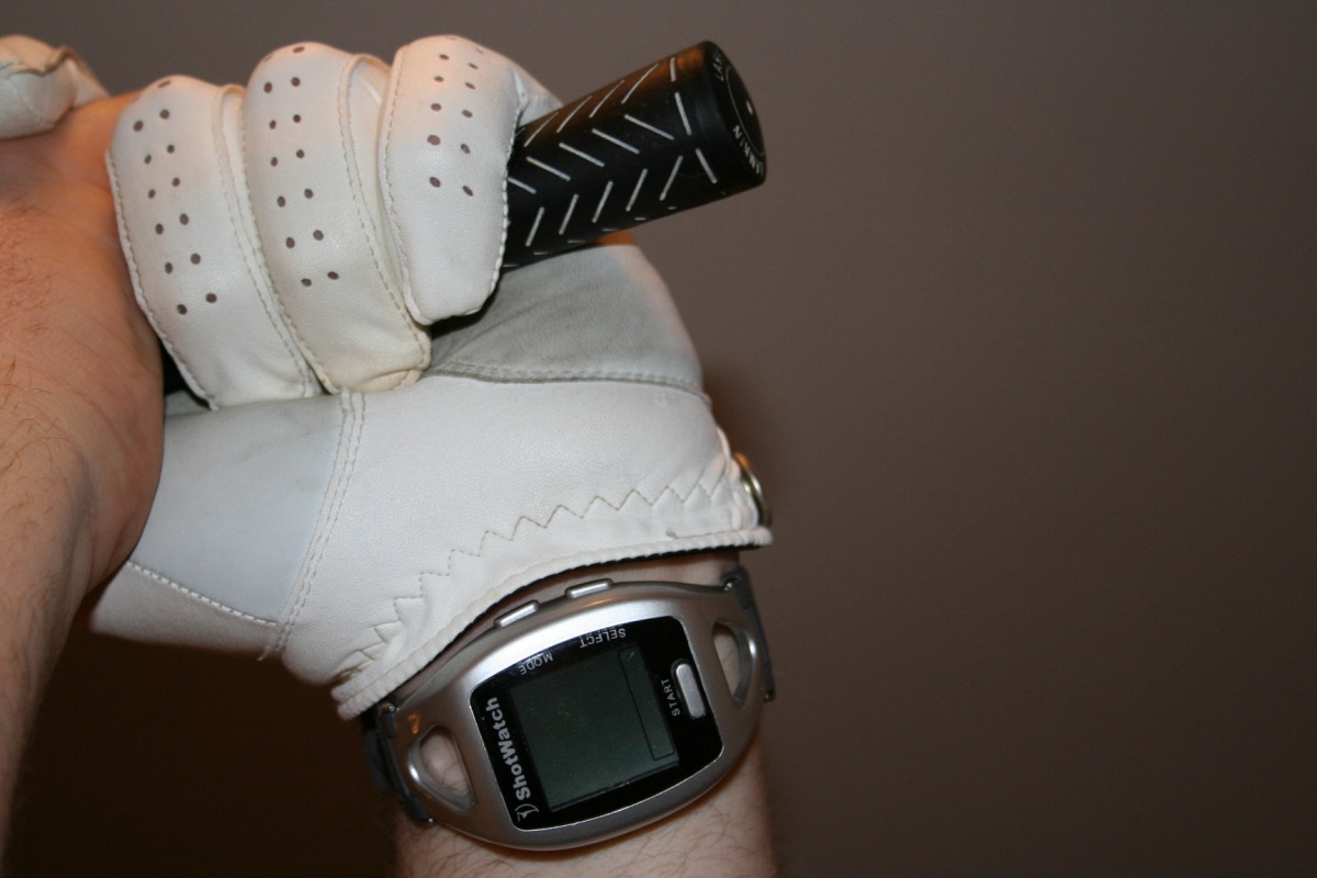 Golf Grip Glove with FlexiForce Sensor
