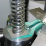 coil spring pressure measurement
