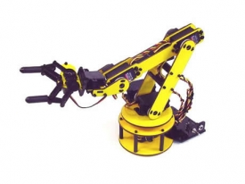 Grip force measurement with robotic arm