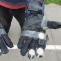 Force Feedback Glove for Motorbike Riding