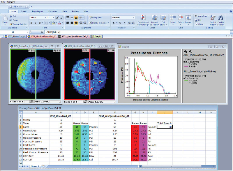 I-Scan Pressure Mapping Software