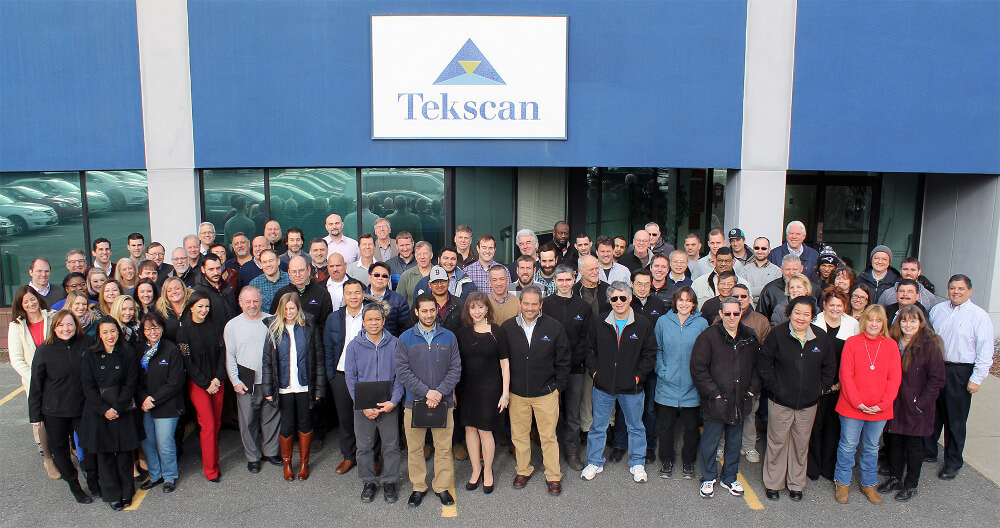 Tekscan Team, January 2017