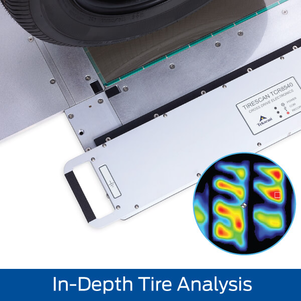 Tire Footprint Pressure Mapping Tool