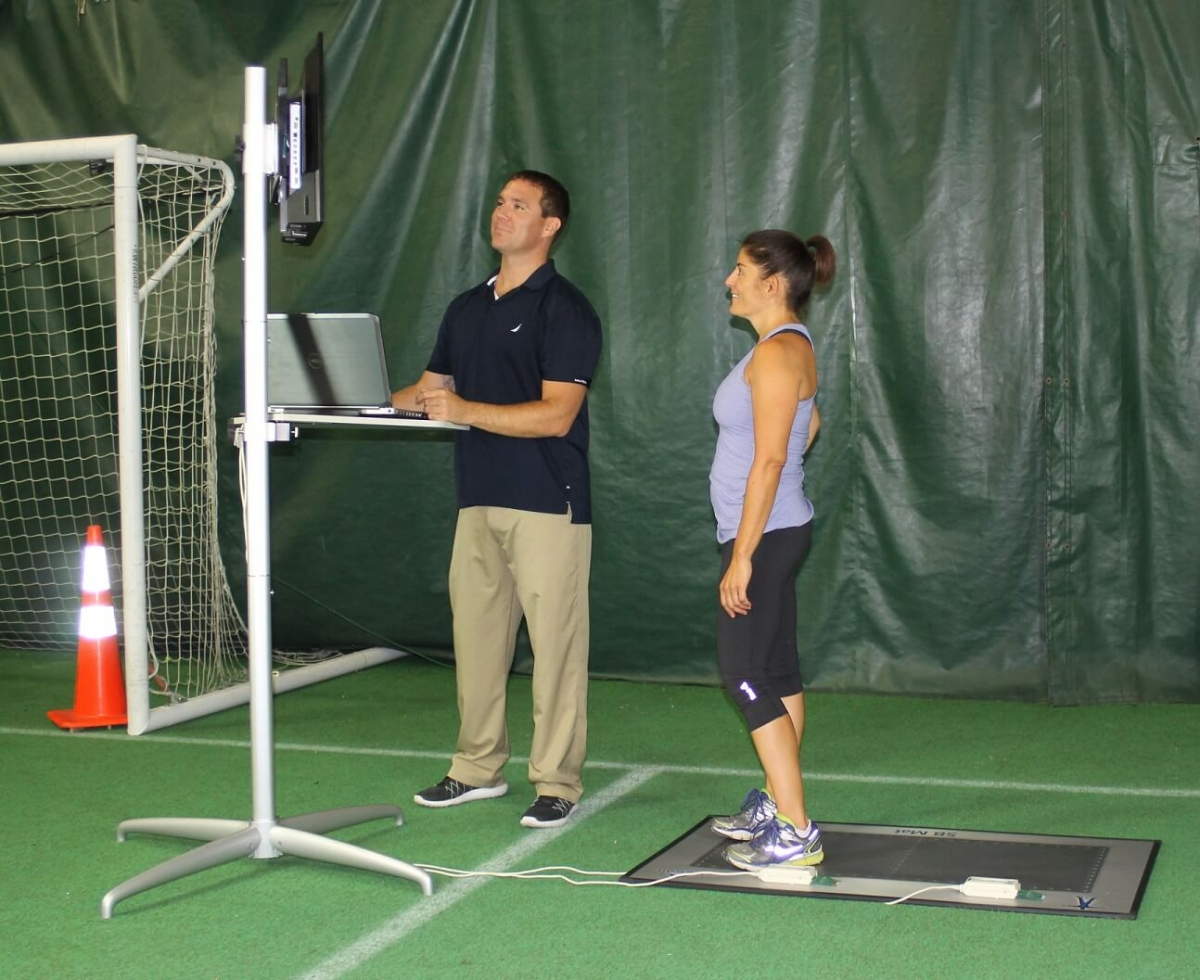 Get results instantly and provide visual feedback to athletes.