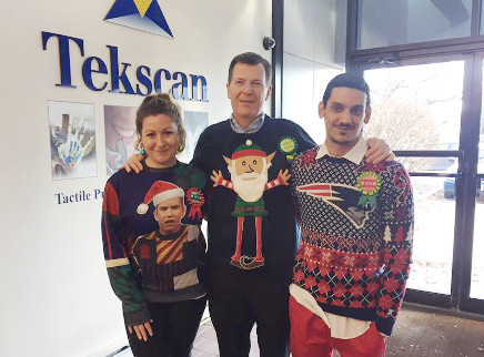 Winners of the 2016 Ugly Sweater Contest
